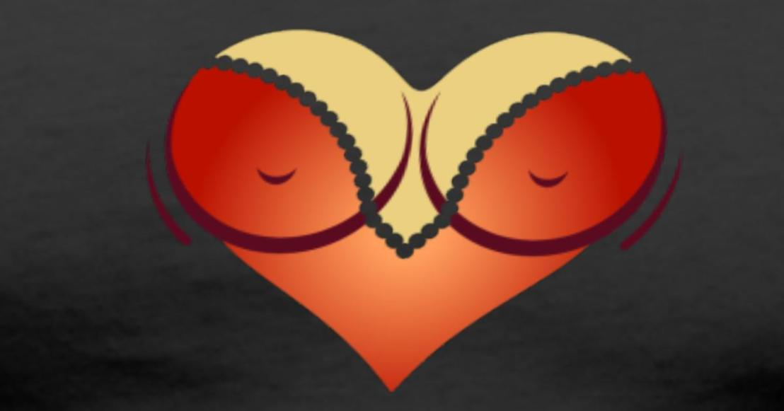 heart-shaped-woman-s-breasts-with-deep-cleavage-men-s-premium-t-shirt